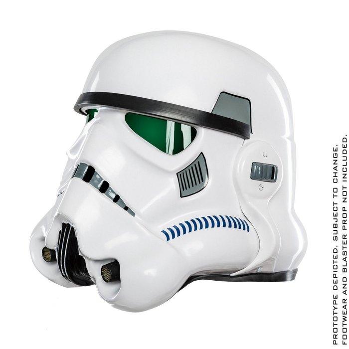 [巨蛋通] ANOVOS 星際大戰EPVII 帝國暴風兵 舊白兵頭盔 可穿戴 1:1 組裝完成品 星戰迷 正版授權商品