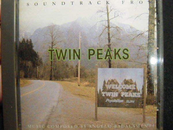 ※布箱子※二手原版 電視原聲帶CD 【twin peaks】