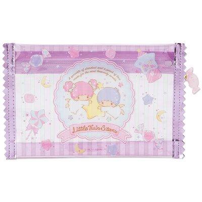 @雪花館@ ~ 雙子星 ♥ 糖果系列 防水筆袋.扁平收納包