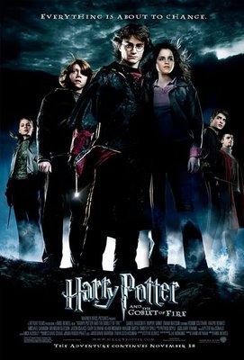 哈利波特:火盃的考驗-Harry Potter and the Goblet of Fire (2005)原版電影海報
