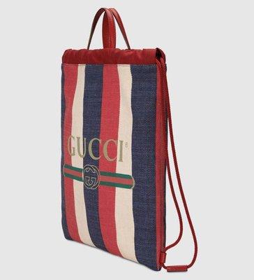 ** Ohya精品代購** 2018 全新代購 Gucci 古馳 Print avec cordon 473872