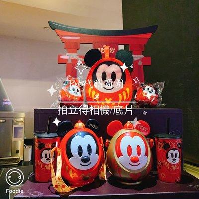 威秀影城 2020鼠年 福神米奇&米妮燙金飲料杯 一套2款 燙金杯 VIESHOW 威秀 Disney 福神米奇雙神套餐