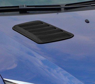 圓夢工廠 Ford 福特 Escape 2004~2007 改裝 質感黑 消光黑 引擎通風網 氣霸飾貼 進氣網飾貼