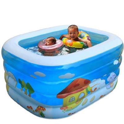 5Cgo 【批發】含稅會員有優惠 6666398617 嬰兒遊泳池 嬰幼兒 充氣加厚超大號兒童遊泳池寶寶海洋球池