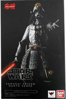 日本正版 萬代 名將 MOVIE REALIZATION 星際大戰 侍大將 黑武士 可動 模型 公仔 日本代購