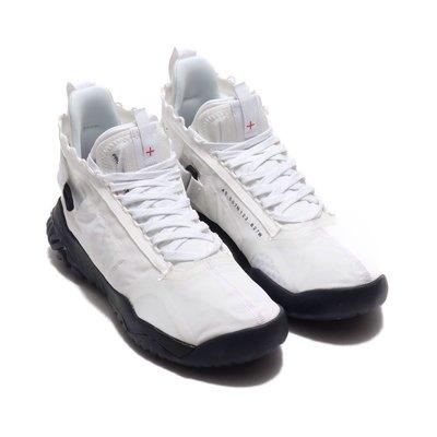 =CodE= NIKE JORDAN PROTO-REACT 3M反光魔鬼氈籃球鞋(白黑) BV1654-100 AIR