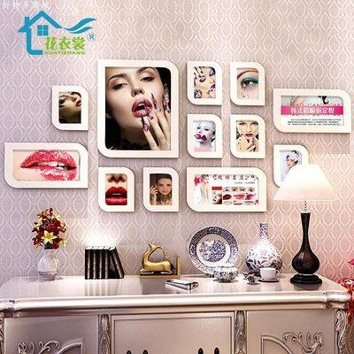 好物多商城 美容院裝飾畫韓式半永久定裝眉眼唇掛畫微整形紋繡美甲壁畫照片墻