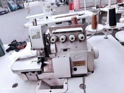 縫紉機二手  三四線五線   工業用家用 電機 直驅 拷邊機.鎖邊機