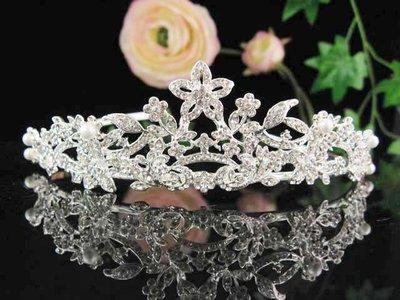 結婚飾物;結婚頭飾;新娘婚禮頭飾;新娘頭飾;婚禮皇冠; BRIDE BAND;BRIDAL HEADPIECE;WEDDING TIARA COMB #612