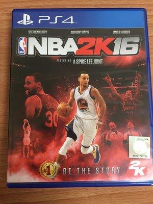 PS4 NBA 2K16 繁體中文版 二手 可取貨付款