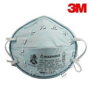 附發票 *東北五金*工業用 3M口罩8246 R95含活性碳拋棄式口罩(酸性氣體專用)