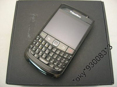 Blackberry 9780 Fullset 全套(黑色)95%