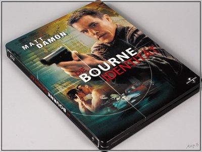 【BD藍光】神鬼認證 1:環球一百周年限定鐵盒版The Bourne Identity (台灣繁中字幕)