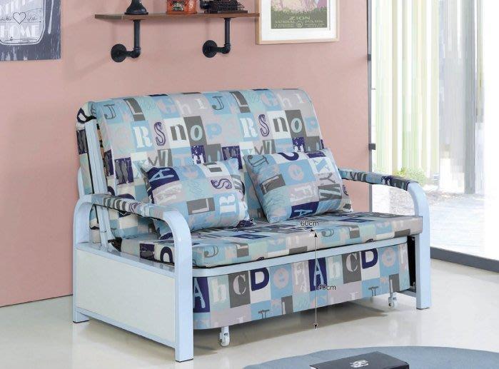 【DH】商品貨號BC174-1商品名稱《辛蒂》布面多功能沙發床(圖一)座/臥兩用.多功能始用.主要地區免運費