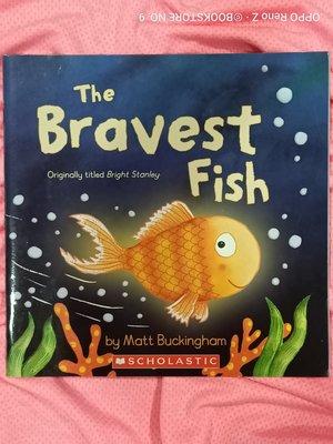 *NO.9 九號書店* The Bravest Fish 英文繪本童書 SCHOLASTIC