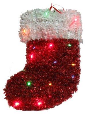 【洋洋小品】【LED聖誕裝飾造型燈-襪子】電池燈桃園平鎮中壢聖誕節大型場地佈置聖誕禮物.聖誕燈.聖誕花圈社區公司機關
