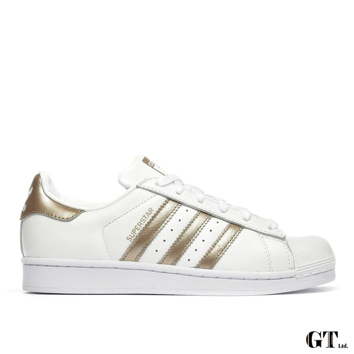 【GT】Adidas W Superstar 白金 女鞋 低筒 板鞋 運動鞋 休閒鞋 貝殼頭 經典款 CG5463