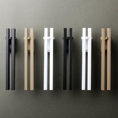 日本風鈴代購Timbre Bo日本制鋁合金風鈴鐺 門鈴音清澈 簡約豎條形北歐風