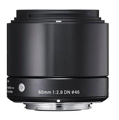 【eWhat億華】恆伸 Sigma 60mm F2.8  DN [A] Art 公司貨 For M43 系統 黑色 適用 GF9 EM10 預購【1】 台北市