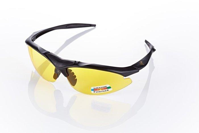 視鼎Z-POLS 頂級消光黑太空纖維TR90材質輕量框體 搭夜用增光黃抗UV400頂級偏光太陽眼鏡