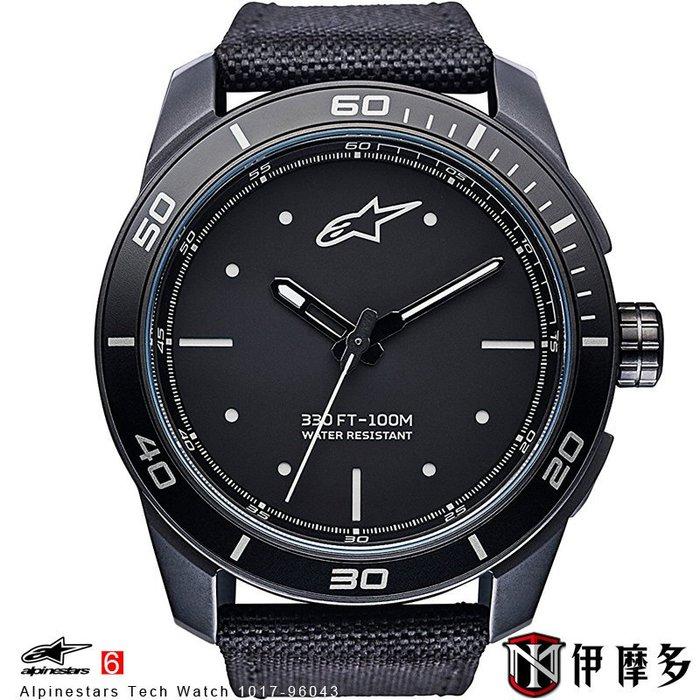 伊摩多※義大利 Alpinestars Tech Watch 手錶 腕錶 運動 奢華時尚 A星 1017-96043