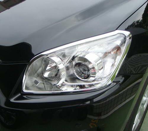 《※金螃蟹※》豐田 TOYOTA RAV4 2009~2012年 系列 鍍鉻 大燈框  改裝 精品 配件 外銷日本