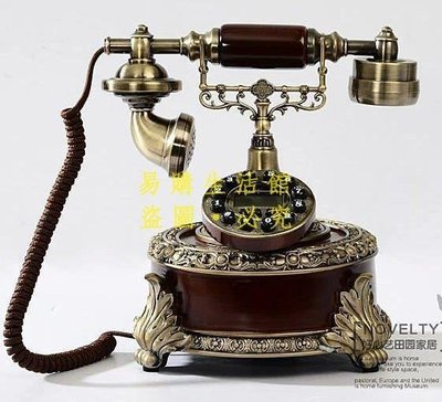 [王哥廠家直销]仿古電話機 家用座機電話 個性電話機 歐式電話 和諧美滿LeGou_2788_2788