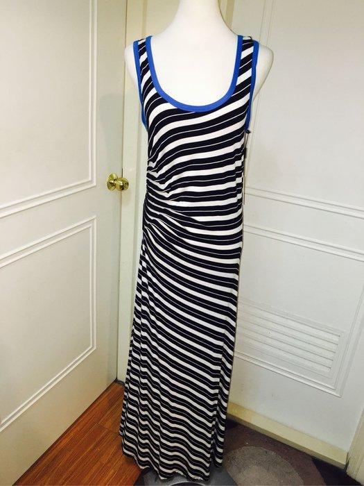 """大出清!!-""""連身裙Calvin Klein長款洋裝size:8超美超顯瘦"""
