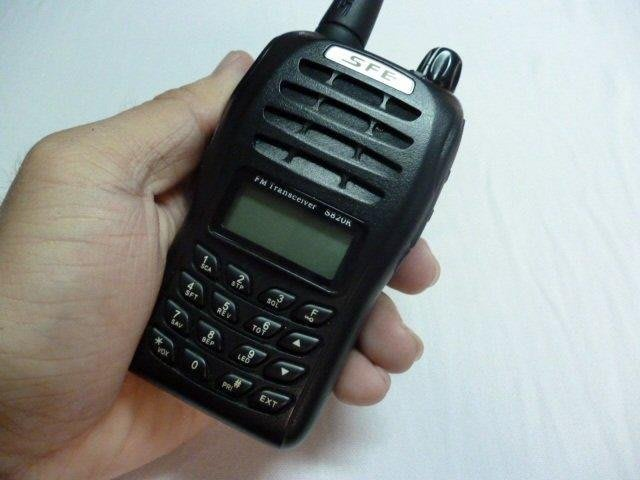 【手機寶藏點】免執照 無線電 業餘機 業務機 VHF UHF FRS UV VU 對講機SFE S820K UHF 鴻G