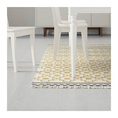 IKEA 大連宜家 艾爾文 短絨地毯平織地毯客廳地毯餐墊地毯臥室