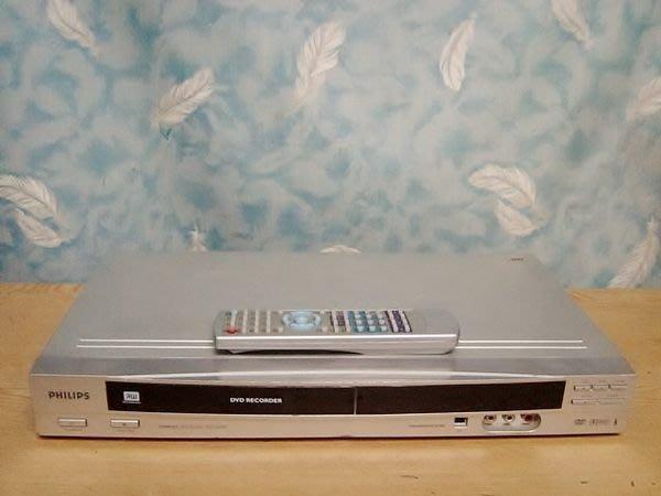 Y保固1年【小劉二手家電】PHILIPS  DVD錄放影機,DVDR612型,全新雷射頭,附萬用遙控器