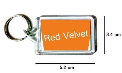 〈可來圖訂做-鑰匙圈〉Red Velvet 壓克力雙面鑰匙圈 (可當吊飾)
