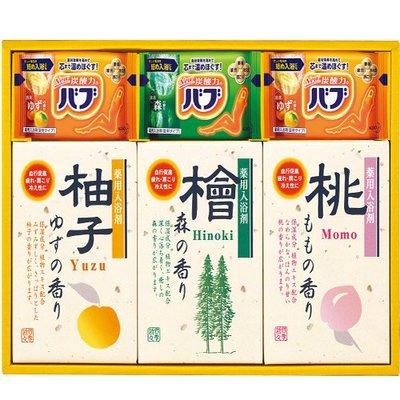日本 熊野油脂x花王聯名 四季風情 SB-15 入浴劑禮盒組✿