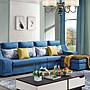 【ODS】藍灣簡約L型布沙發- 尺寸布色可訂製- ...
