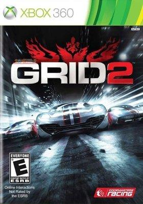 全新未拆 XBOX 360 ONE 極速房車賽:街頭賽車2 (含VIP Pass 3台車種) -英文美版- Grid 2