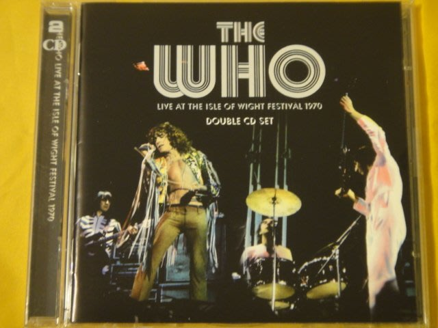The Who 誰合唱團 -- Live at the isle of Wight Festival 1970 2CD