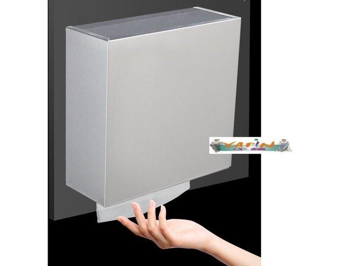 【yapin小舖】公共衛生空間/清潔用品/不鏽鋼 擦手紙架/衛生紙紙架/