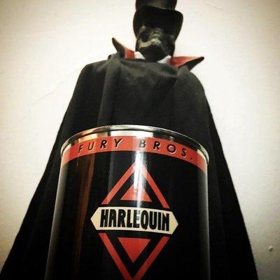 美國製 Fury Bros.天然有機香氛蠟燭 Harlequin苦艾味 暗夜丑角
