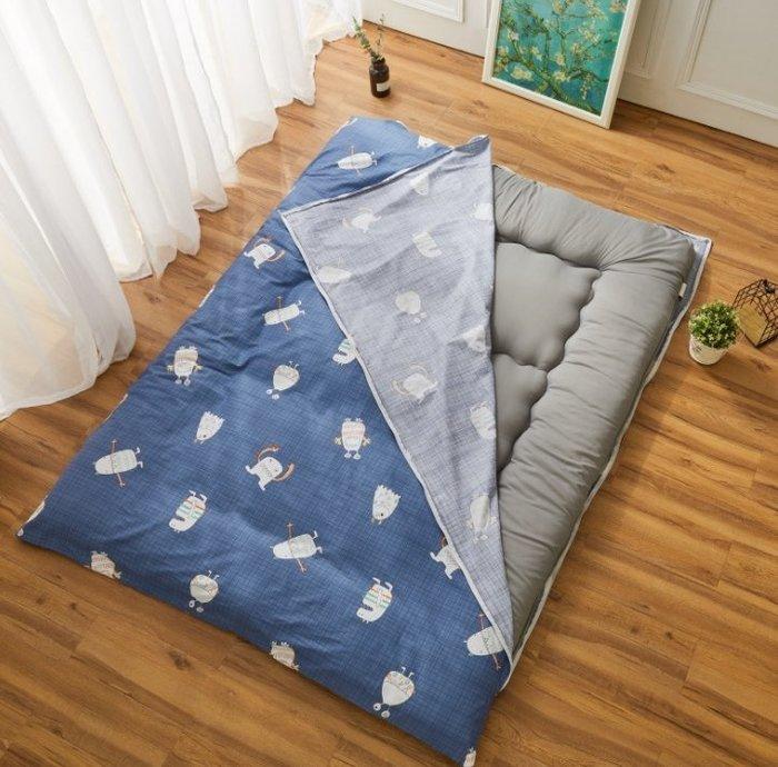 新款純棉床墊保護套床套防塵床罩 床墊保護套床套防塵床罩 日式 榻榻米床墊褥子套