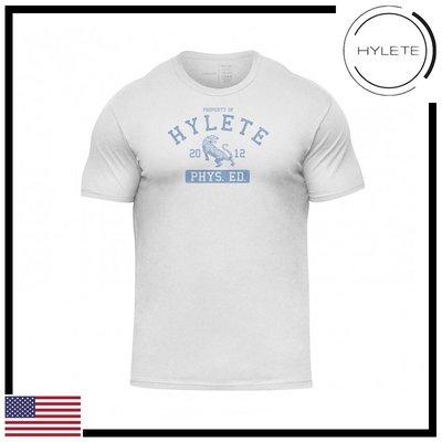 ►瘋狂金剛◄ 白色 HYLETE Phys Ed Tri-Blend Crew Tee  柔軟 透氣 短袖T恤