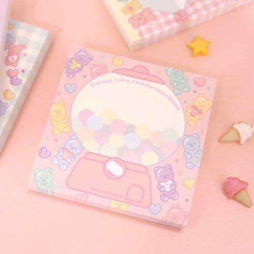 ❅PAVEE❅韓國afrocat~ PINKY HOLIC Chocomi v.1 熊寶貝 便條紙~ 糖果機