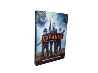 外貿影音 高清美劇太空無垠1-3季DVD合集 原聲英文Expanse蒼穹浩瀚英文碟片