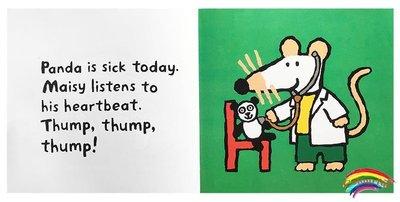 英文原版進口繪本 Doctor Maisy 小鼠波波醫生 廖彩杏少兒童書英語啟蒙 圖畫書
