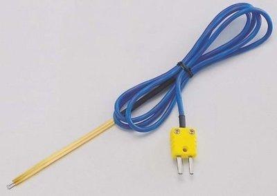 TECPEL 泰菱 》TPK-02A TPK-02B 葉片式表面溫度測線 K 型熱電偶 半導體測溫