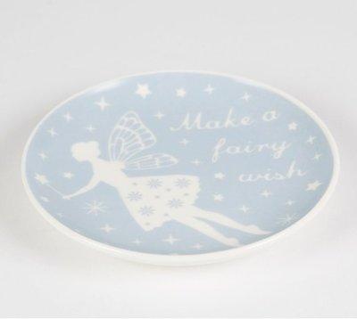 英國Sass&Belle飾品首飾小瓷盤-許個精靈般的願望/家飾/雜貨/擺飾/收納/童話/zakka