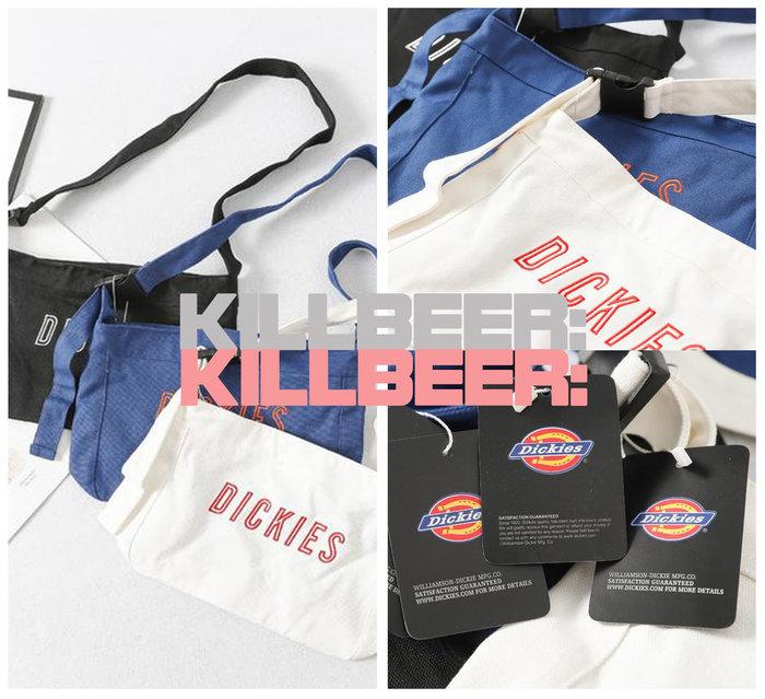 KillBeer:代購✈️✈️美國品牌DICKIES搖滾工業簡約LOGO撞色刺繡多用單肩側背帆布郵差包情侶A080218
