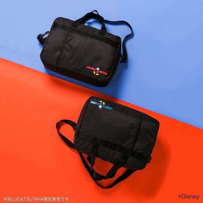 ☆Juicy☆日本mook雜誌附錄 迪士尼 米奇 米老鼠 托特包 單肩包 手提包 出國 旅行袋 可掛行李箱