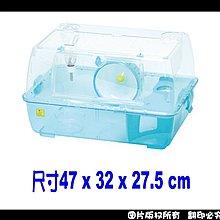 中和寵翻天寵物家族☆麗利寶男大學舍黃金鼠專用籠TM-2081