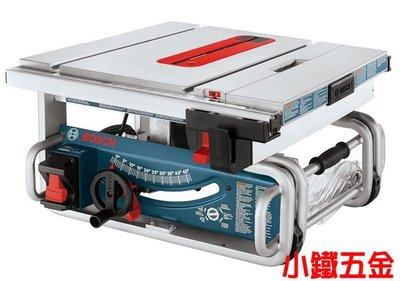 缺貨*小鐵五金*德國BOSCH 10吋桌上型圓鋸 GTS 1031可搭購GTA60W腳架*