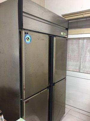 風冷式四門冰箱營業用二手